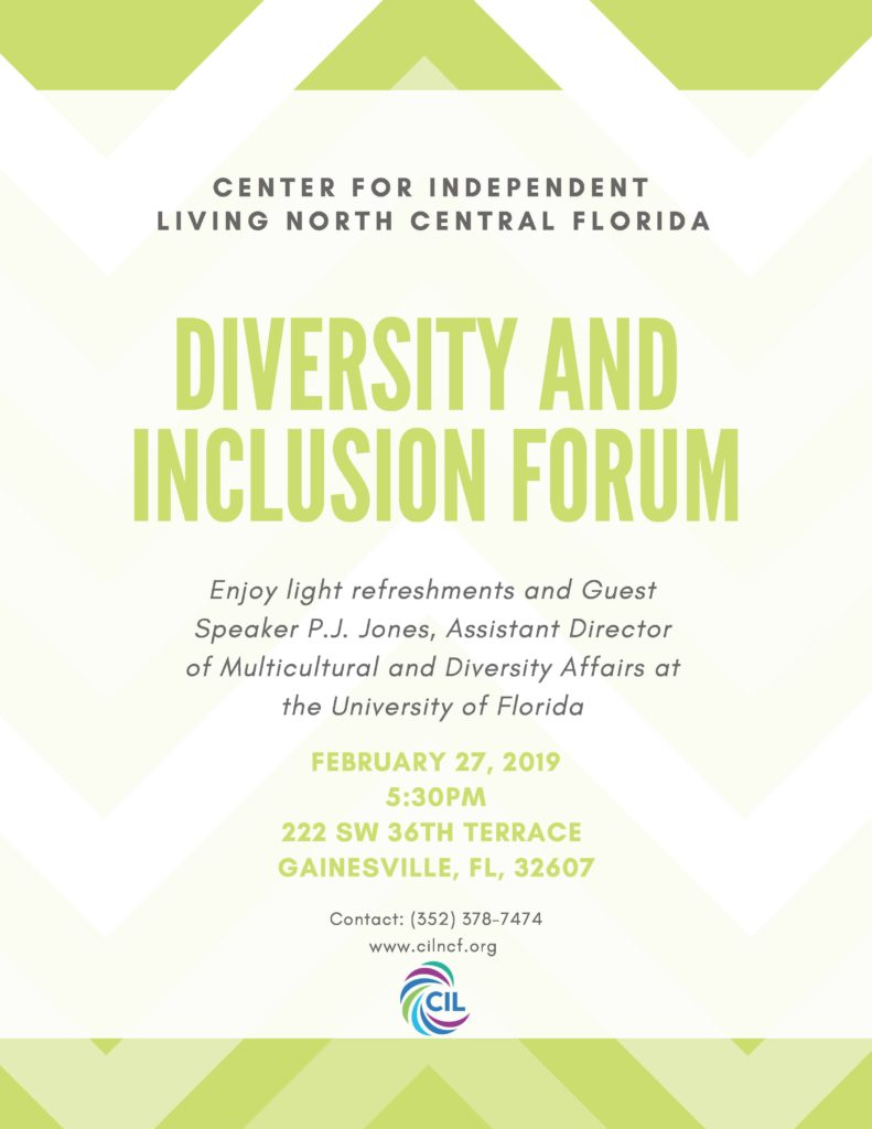 CILNCF to host Diversity and Inclusion Forum | Center for