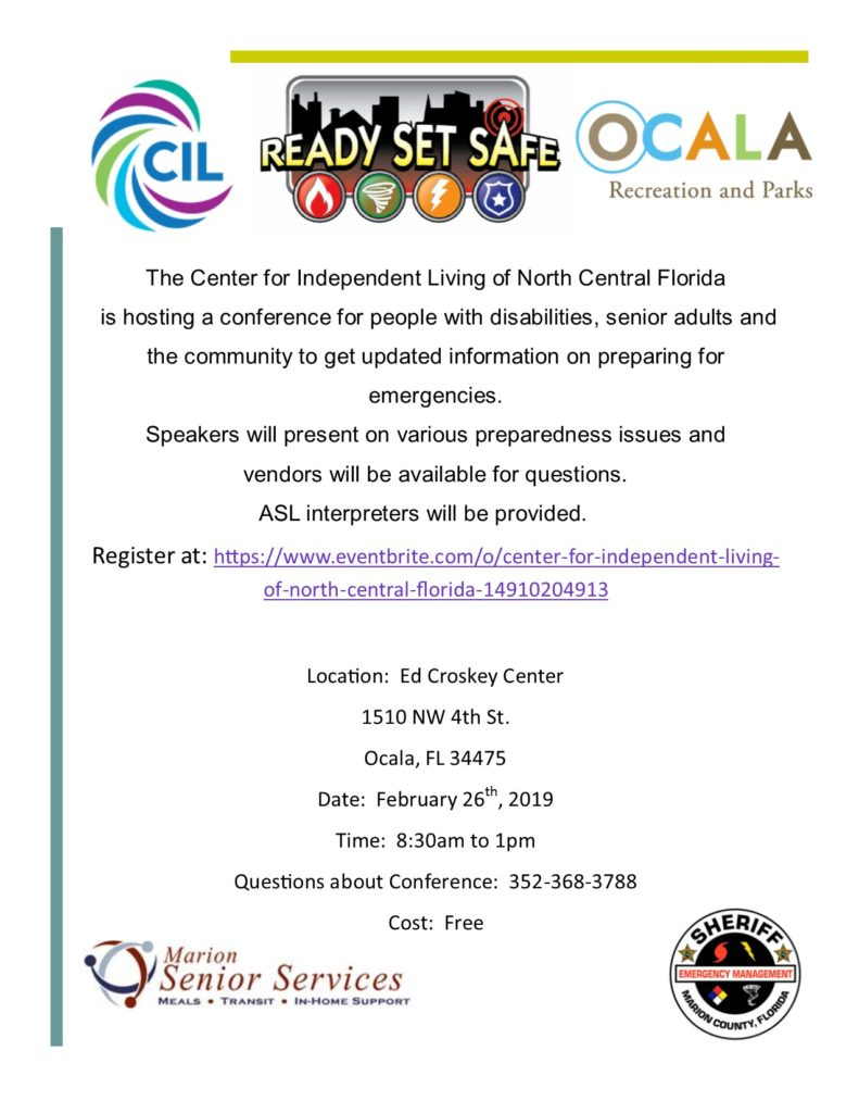 Emergency Preparedness Conference To Be Held Feb 26